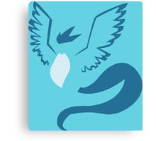 pokemon articuno anime manga shirt Canvas Print