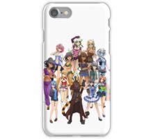 Takeru   HuniePop Harem iPhone Case/Skin