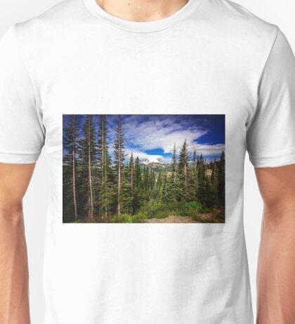 Mt Rainier Landscape Unisex T-Shirt