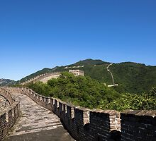 Mutianyu Great Wall of China by SeeOneSoul