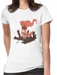 Neko Girl Womens Fitted T-Shirt