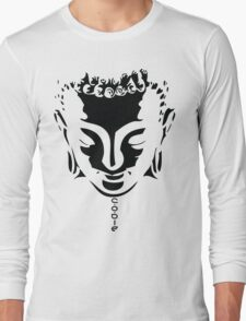 Buddha Face Long Sleeve T-Shirt