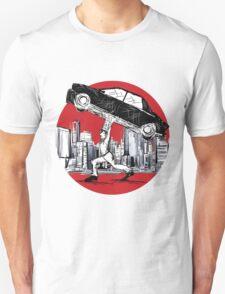 Pedestrian Up Car T-Shirt