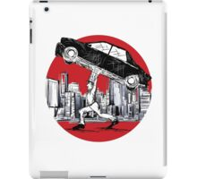 Pedestrian Up Car iPad Case/Skin