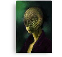 Reptilian Canvas Print