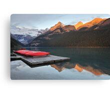Lake Louise Jetty Canvas Print