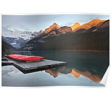 Lake Louise Jetty Poster