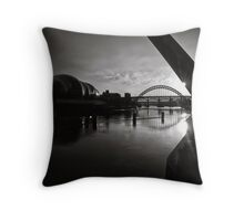 Fanfare on the day Throw Pillow