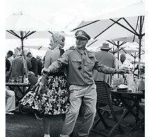 Goodwood Revival dancers Photographic Print