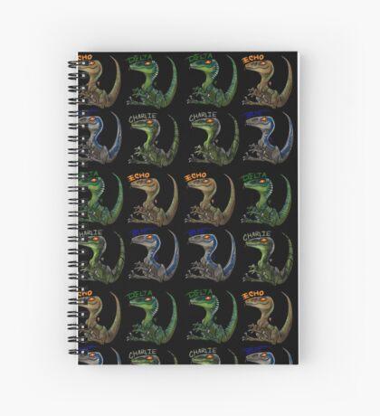 Raptor Squad Spiral Notebook
