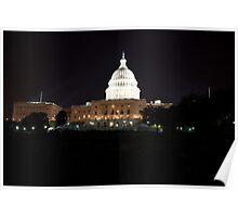 U S Capital Building Poster
