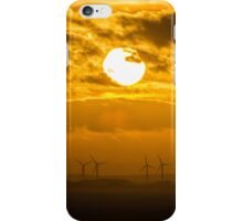 Bridlington Wind Farm iPhone Case/Skin