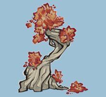 Tree - autumn Kids Tee
