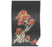 Tree - autumn Poster