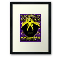 The Wrong F#@%king Cowboy Framed Print