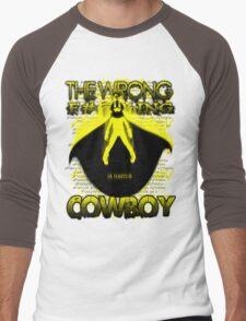 The Wrong F#@%king Cowboy Men's Baseball ¾ T-Shirt