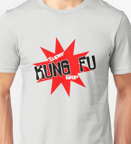 Now with super kung fu grip baby bodysuit geek funny nerd Unisex T-Shirt