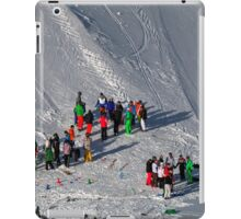 Winter on Kitzsteinhorn 56 iPad Case/Skin