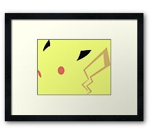 pokemon pikachu anime manga shirt Framed Print