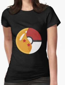 Pokeball Z Womens Fitted T-Shirt