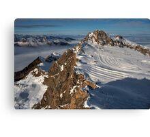 Winter on Kitzsteinhorn 57 Canvas Print