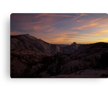 Olmsted Sunset Canvas Print