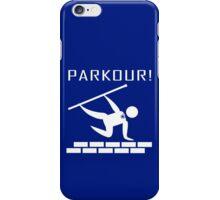 Parkour wizard geek funny nerd iPhone Case/Skin