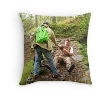 The Re-enactment Part 2 ~The Rescue Throw Pillow