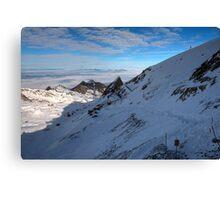 Winter on Kitzsteinhorn 60 Canvas Print