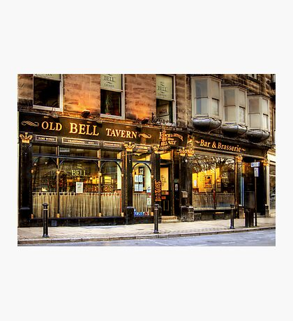 The Old Bell Tavern  Photographic Print