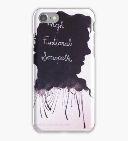 High Functional Sociopath iPhone Case/Skin