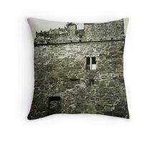 Castle Ruins, Portaferry, Co. Down, Ireland Throw Pillow