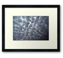 Ominous Clouds Framed Print