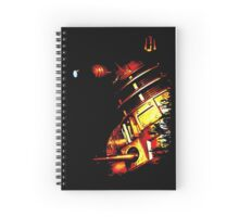 Dalek Notebook (Beta Bronze) Spiral Notebook
