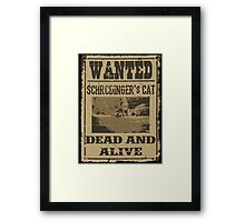 Dead and Alive Framed Print