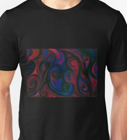 Red and Blue Eyes Unisex T-Shirt