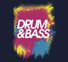 Drum & Bass (splash) by TheSlowBuildUp