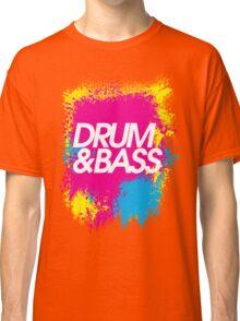 Drum & Bass (splash) Classic T-Shirt