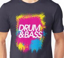 Drum & Bass (splash) Unisex T-Shirt