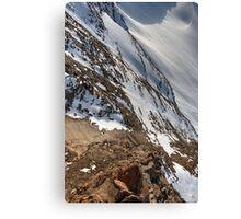 Winter on Kitzsteinhorn 65 Canvas Print