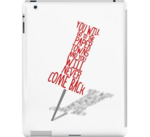 Paper Towns iPad Case/Skin