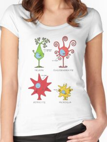 Meet your brain cells! - TALL Women's Fitted Scoop T-Shirt