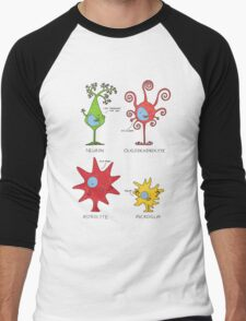 Meet your brain cells! - TALL Men's Baseball ¾ T-Shirt