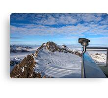 Winter on Kitzsteinhorn 68 Canvas Print