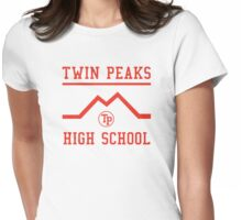 Twin Peaks High School Womens Fitted T-Shirt