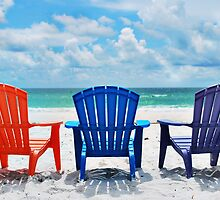 Beach Chairs by ajvouglas