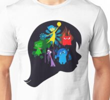 Inside Out Girl (LIGHT BACKGROUND) Unisex T-Shirt