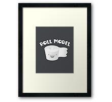 Roll Model Framed Print