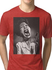 Billie Holiday  Tri-blend T-Shirt