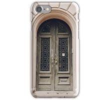 Baltimore Door no. 1 iPhone Case/Skin